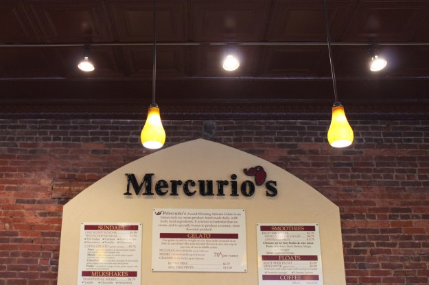 Mercurio's Interior Sign