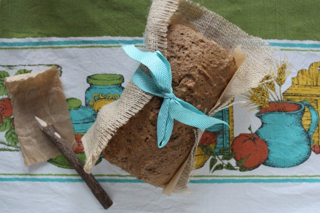 Spelt Bread and Tablecloth