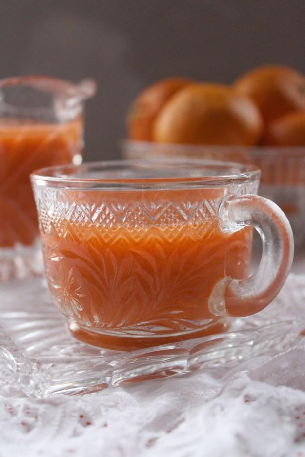 Orange Colored Juice