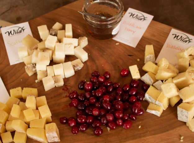 Cranberries and Cheese