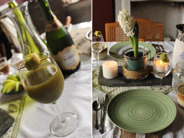 Green Mimosas
