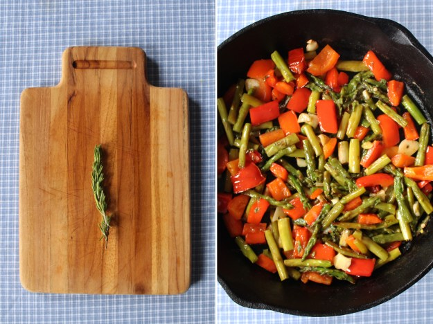 Rosemary and Roasted Veggies