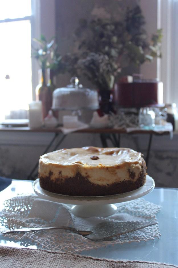 Carrot Cake Cheesecake Swirl
