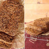 Carrot Ginger Molasses Bread (What To Do With Juicing Pulp)