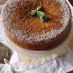Grapefruit & Basil, Whole-Wheat, Olive Oil Cake