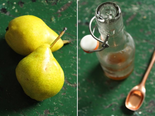 Pears and Ginger Syrup