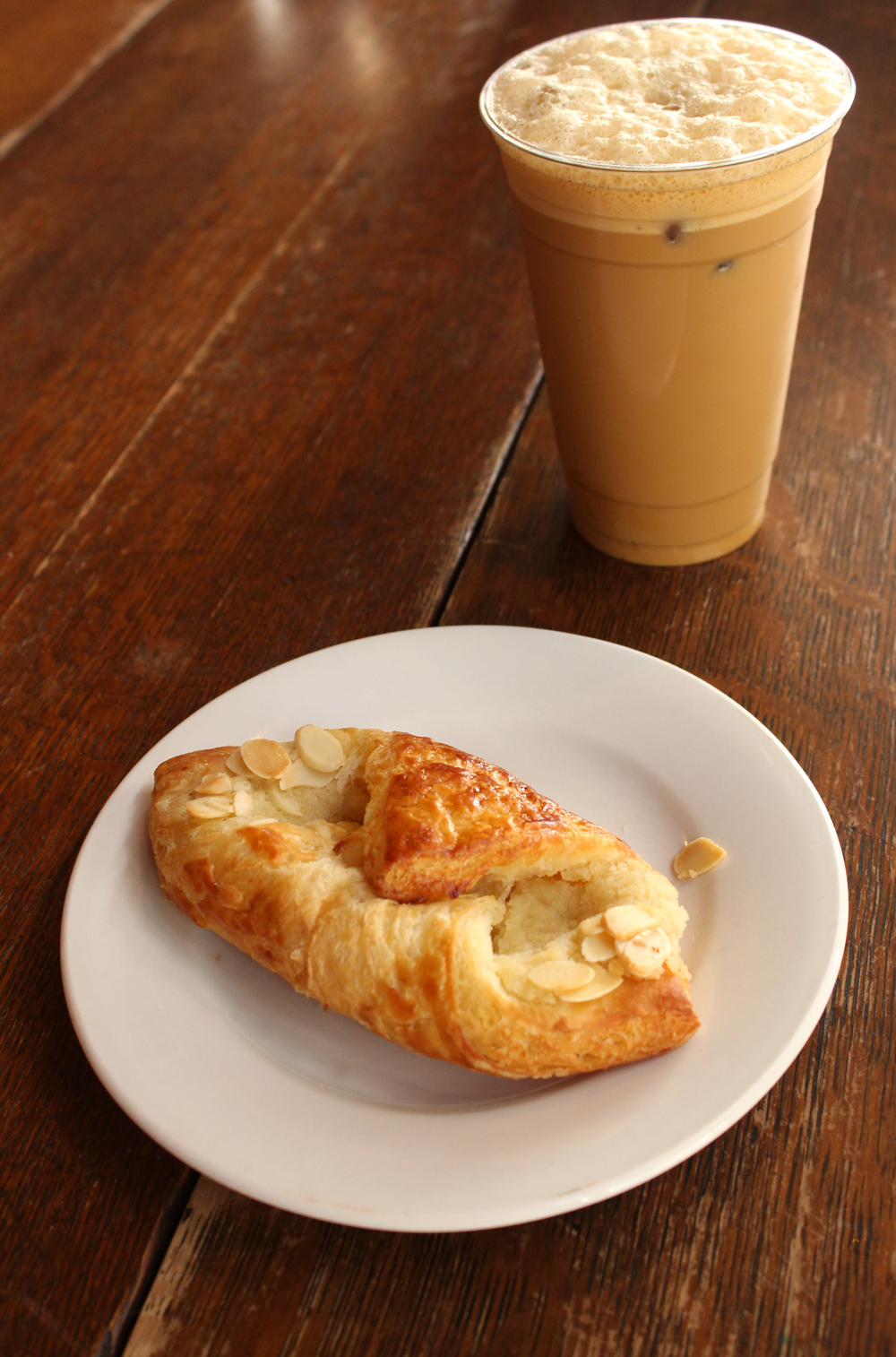 Cold Brew and Croissant