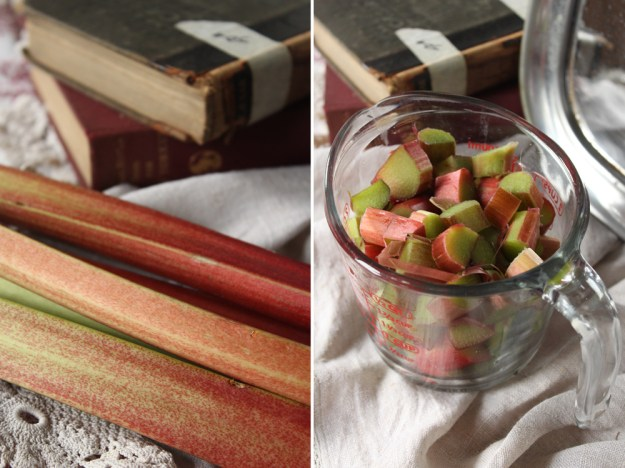 Local Rhubarb Stalks