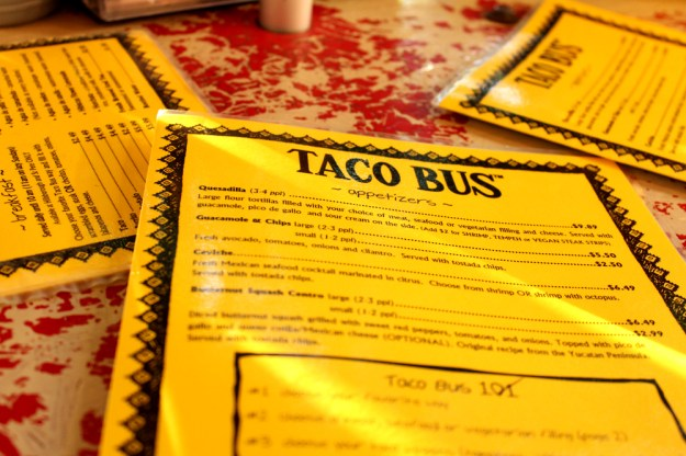 Taco Bus Menus