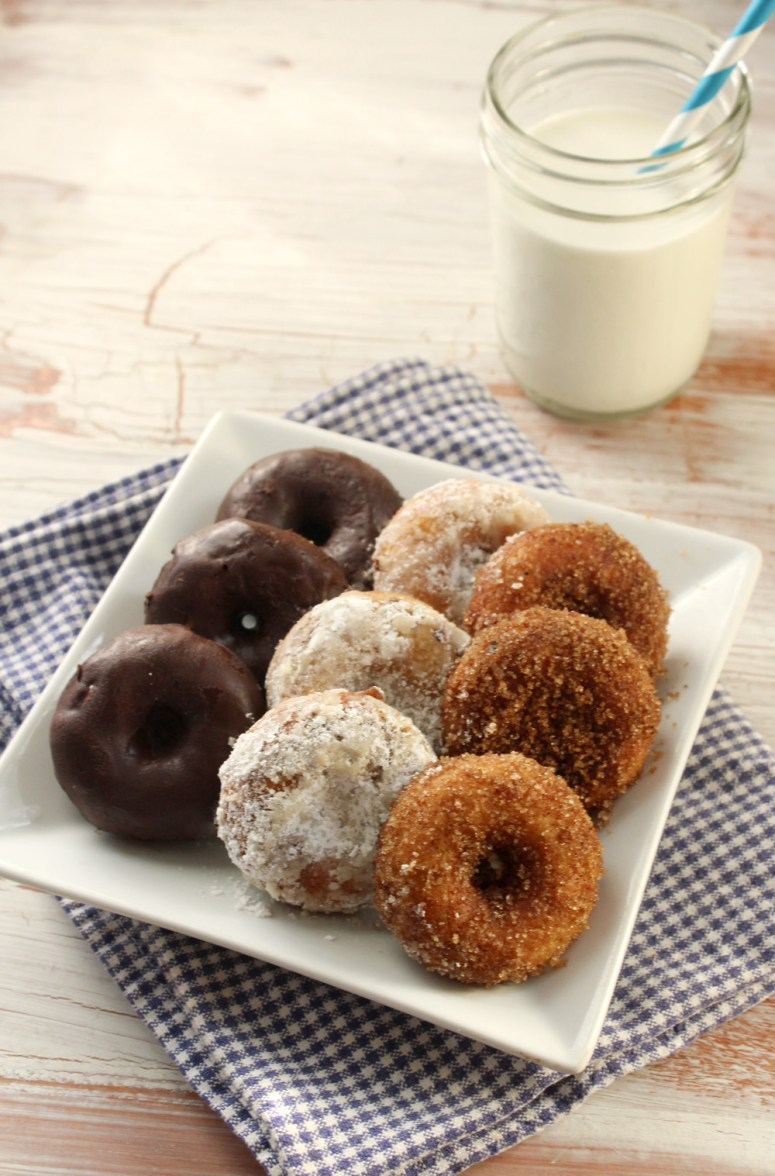 A Reinvented Tripartite Pack of Donuts