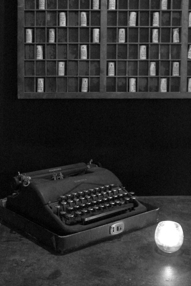 Typewriter and Cork