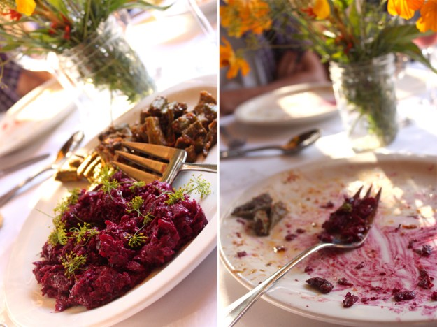Beautiful Beets and Dill