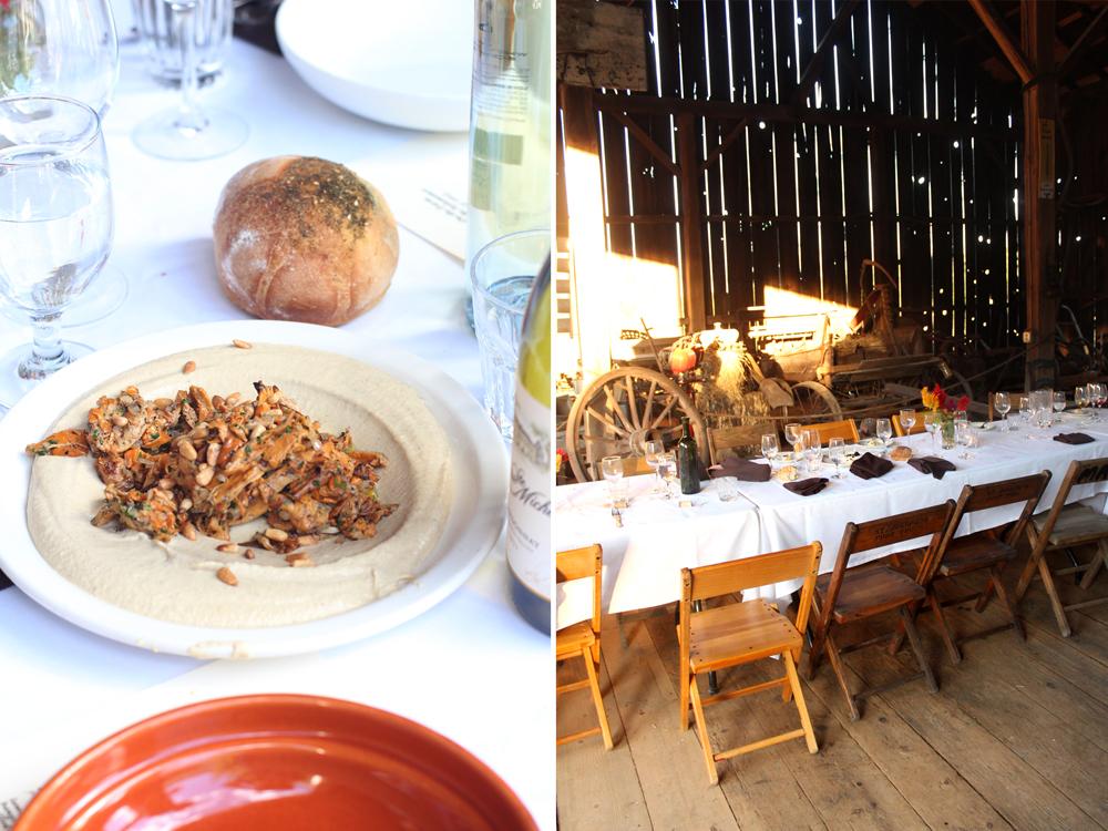 A Taste of Mike Solomonov's Zahav Restaurant on the Farm // www.WithTheGrains.com
