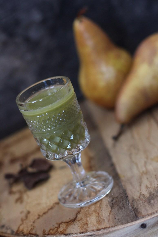 Juice of the Week: Greens & Pears