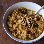 Put More Pumpkin In It: Pumpkin, Cranberry & Walnut Oatmeal