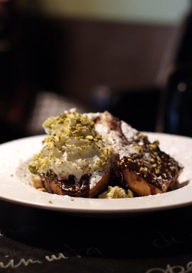 Pistachio French Toast Perfection