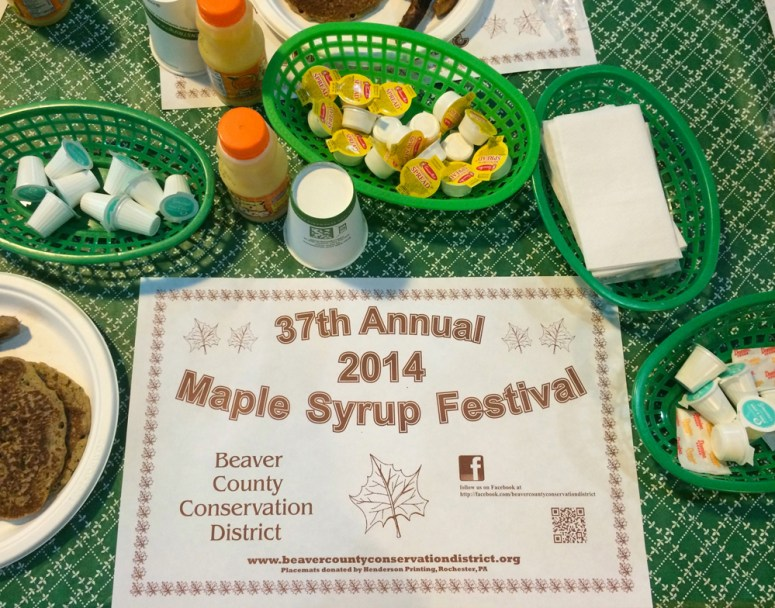 Birthday Pancakes at the Annual Maple Syrup Festival
