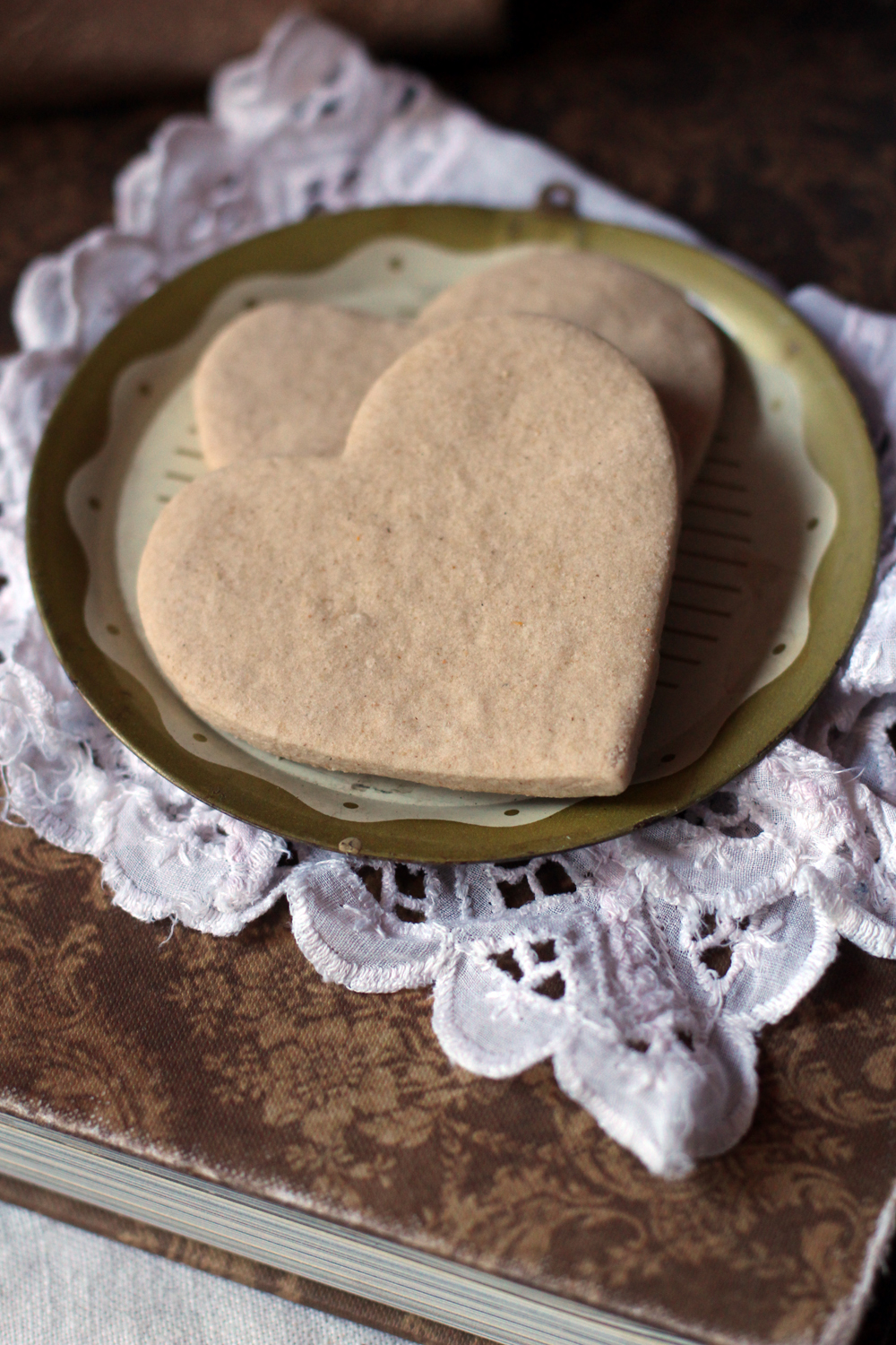 Midweek Romance: Whole Wheat Rosewater Cookies