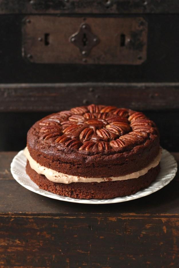 Chocolate Maple Cake