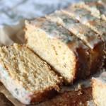 Whole-Wheat Lemon Pound Cake with Lemon-Sage Glaze