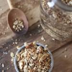 Maple Almond Granola with Flax & Coconut