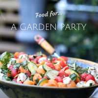 Simple Foods For A Summer Garden Party