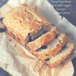 Whole Wheat Lemon Blueberry Quick Bread