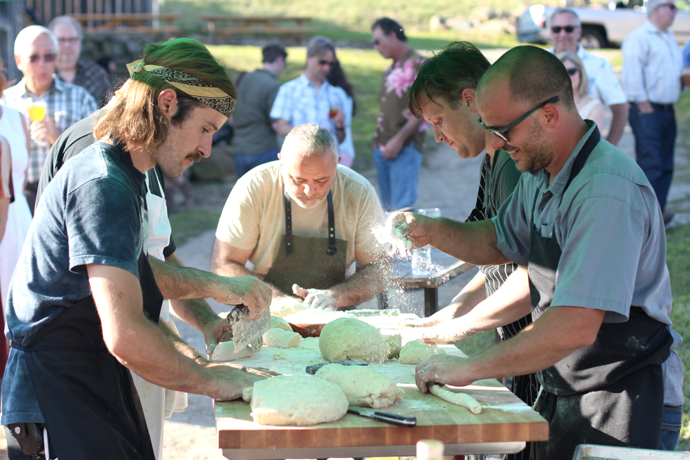 Making Gnocchi