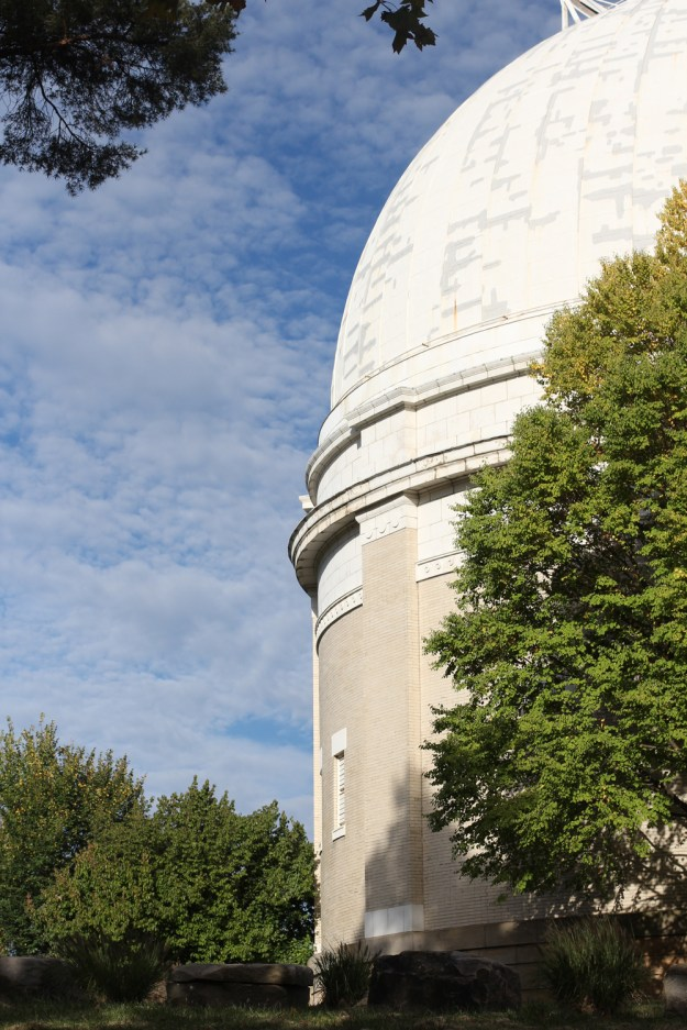 Observatory and Blue Sky