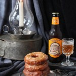 Donut o' the Month for Jojotastic: Whole Wheat Pumpkin Ale Donut