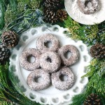Donut o' the Month for @Jojotastic: Powdered Whole Wheat Gingerbread