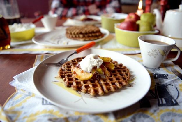 Pumpkin Waffle for Quelcy