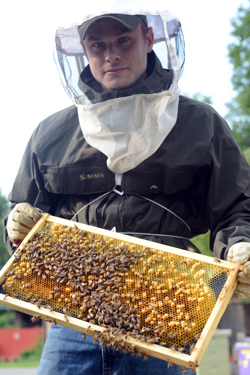 Meet A Beekeeper // www.WithTheGrains.com