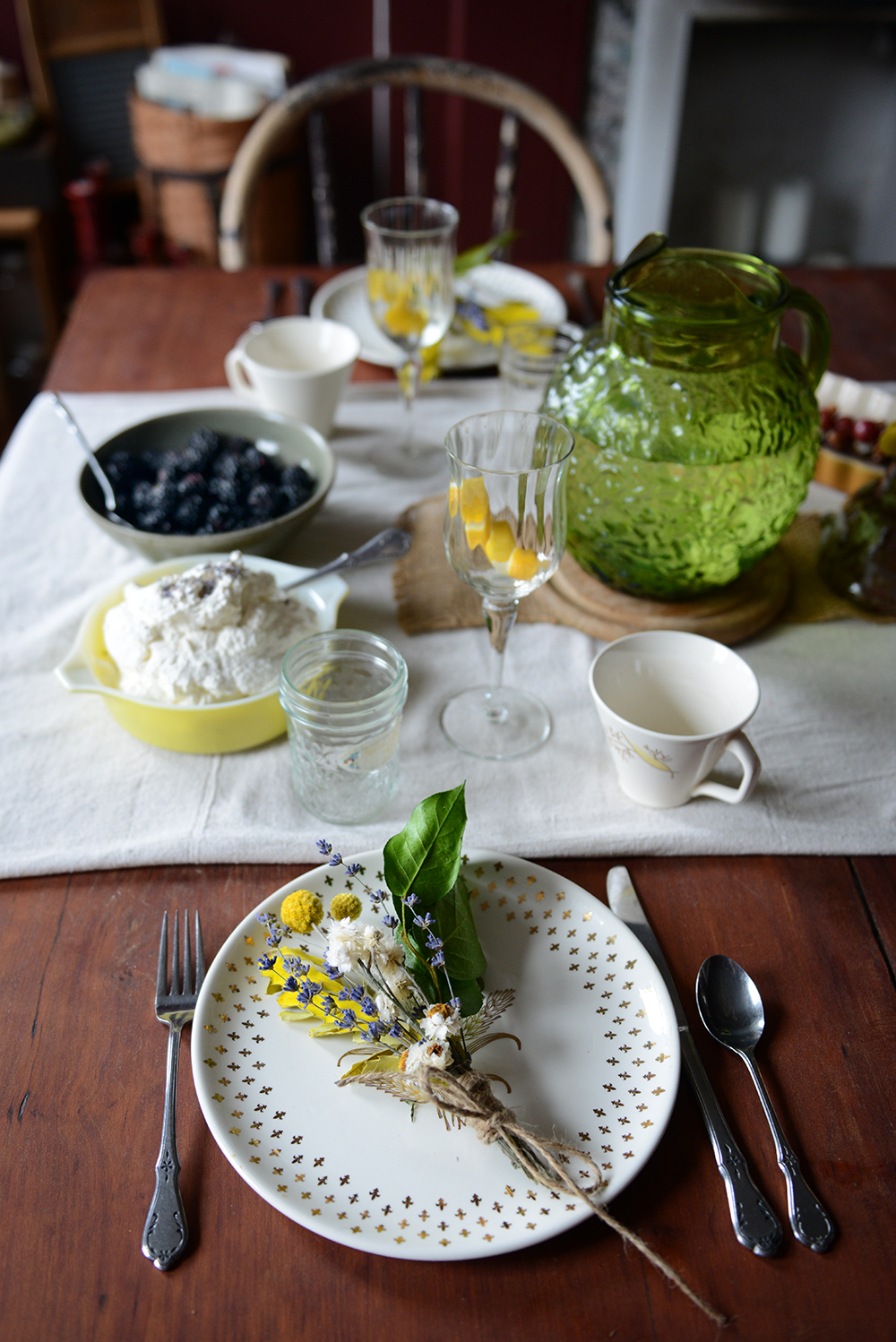 Lemon Lavender Brunch // www.WithTheGrains.com