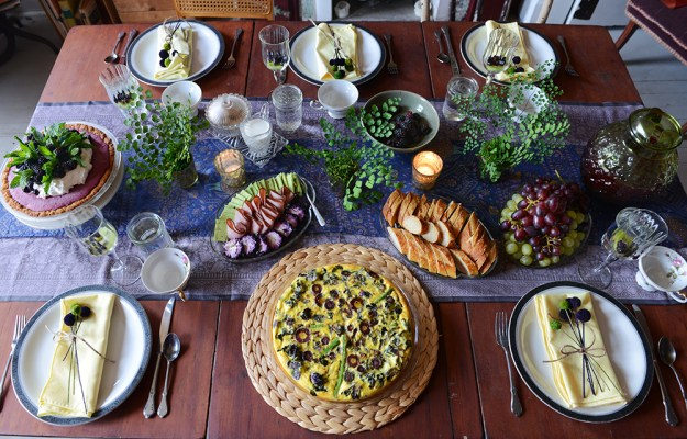 Purple and Green Brunch by With The Grains 09