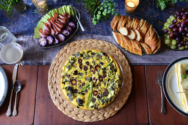 Purple and Green Brunch by With The Grains 10