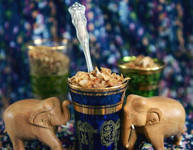 Chai Coconut Granola
