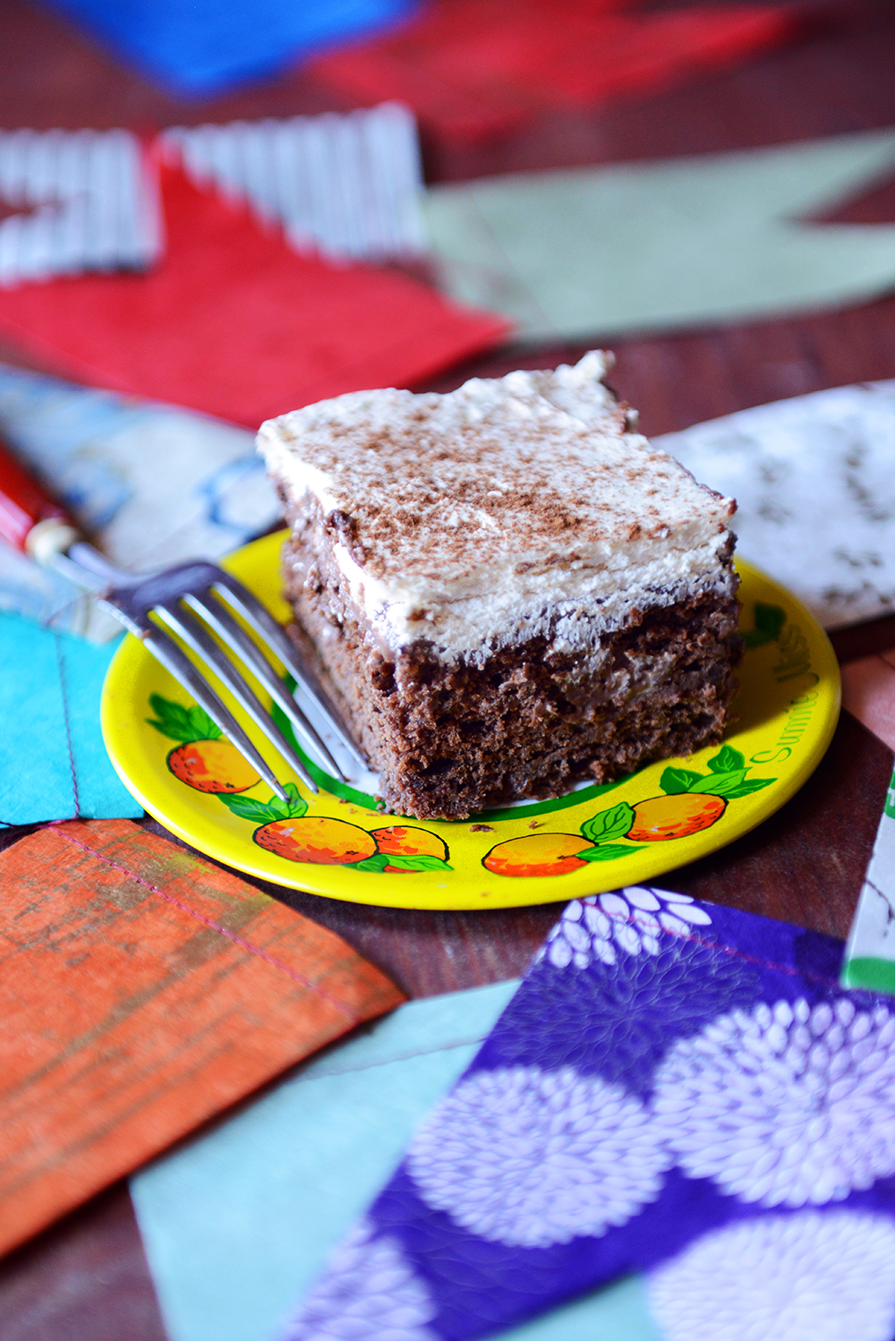 Whole Wheat Chocolate Banana Tres Leches Cake - With The Grains