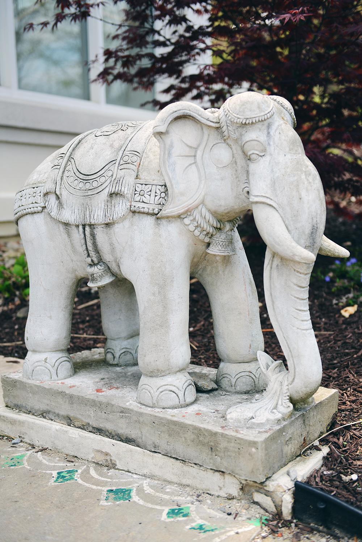 Hindu Temple // www.WithTheGrains.com