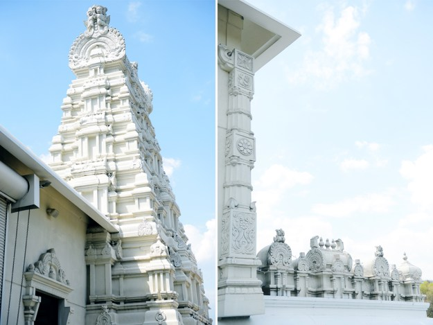 Hindu Temple // www.WithTheGrains.com