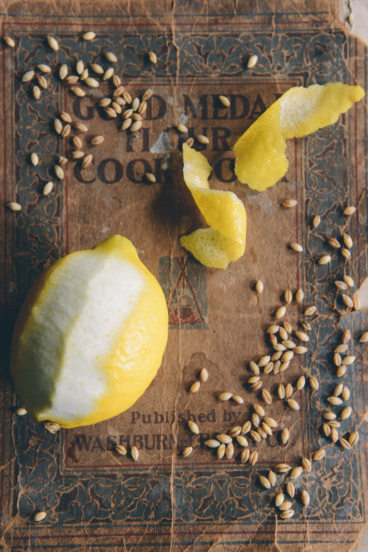 Lemon & Honey Barley Water // www.WithTheGrains.com