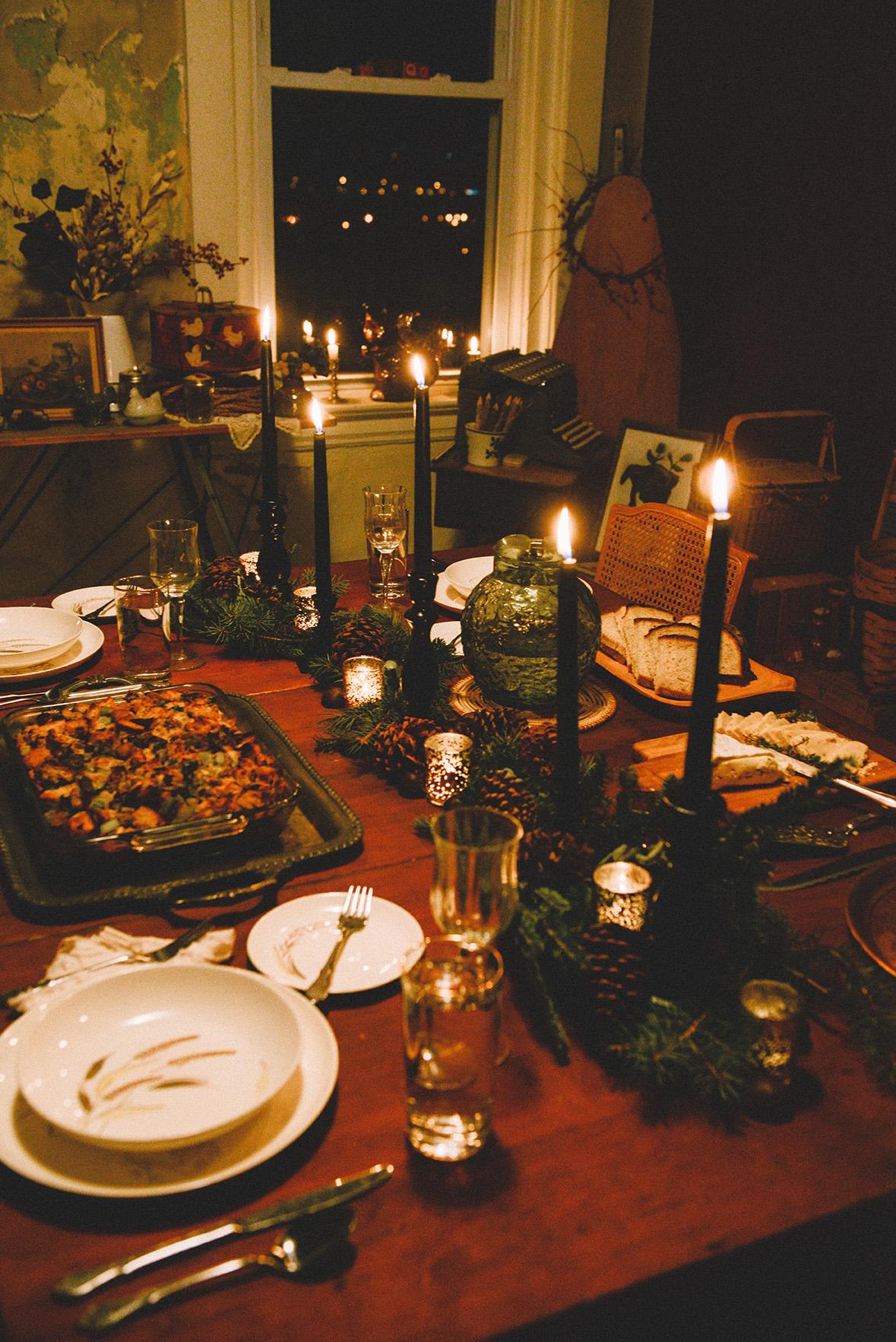 A Winter Meal & A Chestnut Menu // www.WithTheGrains.com