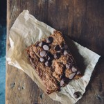 How To Use Leftover Ganache: Dark Chocolate Almond Butter Brownies (gluten free)