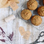 Whole Grain Banana Turmeric Muffins Just for Mom