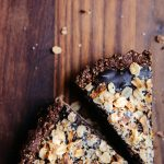 Vegan Chocolate Tart with Salted Oat Crust