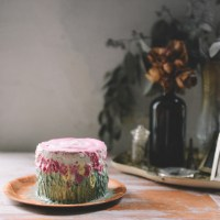 Lemon Lavender Coconut Cake for a Baby's First Birthday (Sugar Free & Gluten Free)