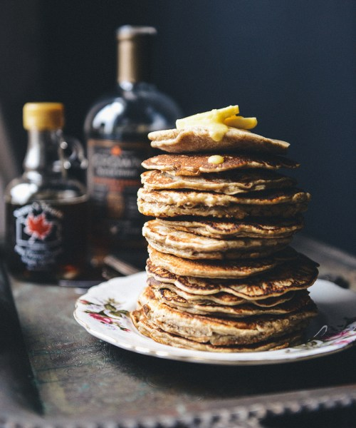Big Batch Whole Grain Pancake Mix // www.WithTheGrains.com