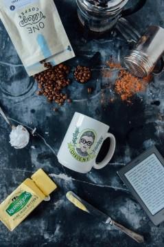 Bulletproof Coffee // www.WithTheGrains.com