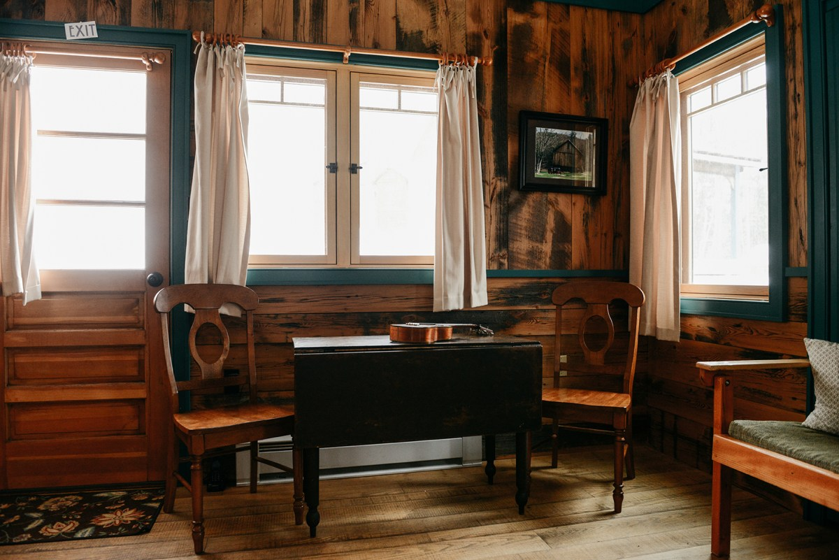 """A Tour of """"Moon Shine,"""" A Tiny House Cabin at Blue Moon Rising Campground // www.WithTheGrains.com"""