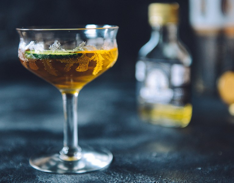 A Turmeric Cocktail Featuring Von Humboldt's Turmeric Cordial